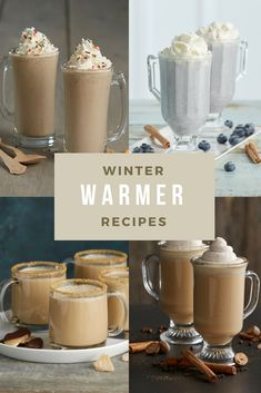 Rich hot cocoas, mochas with a touch of caramel, and martinis with a winter flair—these Winter Warmer Recipes are really why the season exists. Christmas Drinks, Holiday Drinks, Christmas Desserts, Holiday Recipes, Christmas Gifts, Dessert Drinks, Yummy Drinks, Dessert Recipes, Yummy Food