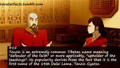 """""""Defender of the Faith"""" <3 Random Avatar Facts"""