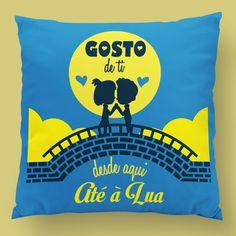 Gosto de ti desde aqui até à Lua! 💝 #zizimut #funnytshirts #tshirts #hoodies #sweatshirt #giftshops #personalizedgifts #personalizadas #porto🇵🇹 #tshirtshop #almofadas #pillows #diadosnamorados #valentinesday #amor #love #prenda #presente #gift