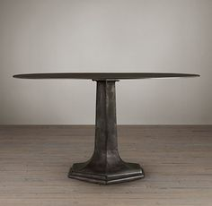 This is the table in the breakfast nook… 1940s Belgian Metal Dining Table for the breakfast nook. LOVE this!