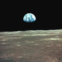 View of earth from moon wow