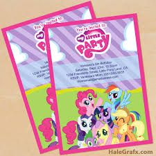 My little pony birthday party invitation cumple gaby 3 resultado de imagen para my little pony birthday invitation template filmwisefo Images