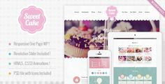 Sweet Cake - Responsive WordPress Theme