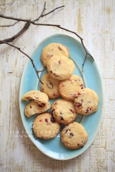 Cooking Tackle: Cranberry Shortbread Cookies