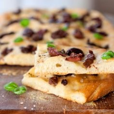Olive and Basil Focaccia