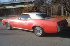 1973 Mercury Cougar XR7 / Cleaned up after being in storage for 30 years