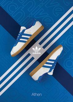 adidas Originals Athen 'White/Blue' size? Exclusive - EU Kicks: Sneaker Magazine