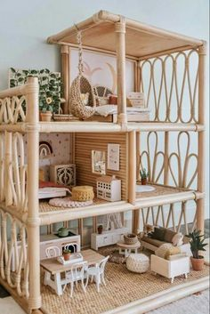 Doll House Plans, Doll House Crafts, Barbie Doll House, Best Doll House, Mini Doll House, Barbie Barbie, Barbie Furniture, Modern Dollhouse Furniture, Furniture Vintage