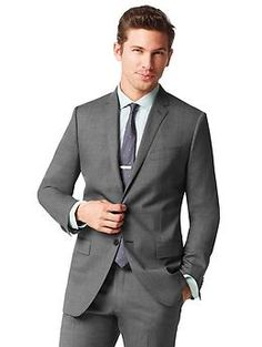 Italian Grey Suit Dress Yy