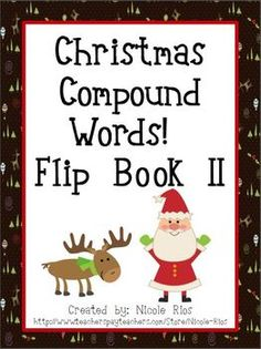 FREEBIE - Compound Word Flip Book