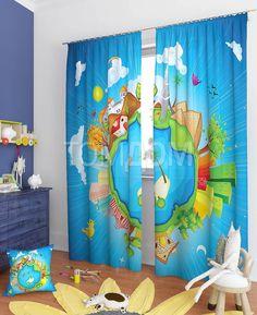 """Комплект штор """"Марфик"""": купить комплект штор в интернет-магазине ТОМДОМ #томдом #curtains #шторы #interior #дизайнинтерьера"""