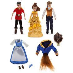 Beauty and the Beast Mini Doll Set | Disney Store