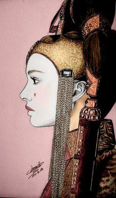 Queen Amidala art