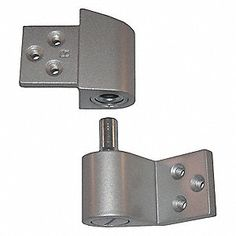 Pivot Hinge,Right Hand,Clear Aluminum Gate Hinges, 2 Storey House Design, Trap Door, Cordless Tools, Home Tools, Security Door, Metal Projects, Gate Design, Furniture Hardware