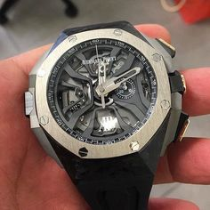 _____________________________________________________  AP Royal Oak Concept Laptimer Micheal Schumacher Limited Edition Novelty Ref: #26221FT #44mm _____________________________________________________  All credits goes to photographer/ owner @luxurywatchlife @wristwerx  Tag your photos with:  #audemarspiguet_fans  #audemarspiguet #ap #audemars #piguet #watch #ap_gallery #luxury #platinum #chronograph #tourbillon #gold #offshore #steel #chrono #bezel #diamond #woman #tradition #timepiece…