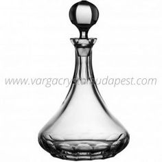 Classic Clear Decanter 250€ Whiskey Decanter, Luxury Candles, Budapest, Barware, Candle Holders, Ship, Vase, Crystals, Classic