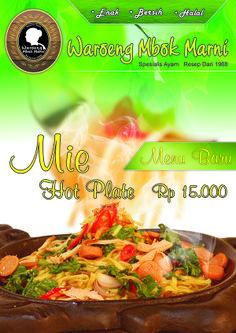 Mie Hot Plate Waroeng Mbok Marni