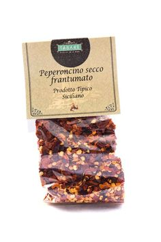 Smashed chili pepper. Spice your pasta and bruschetta with our typical Sicilian chili pepper. #chili #pepper #sicilian #gourmet #pasta #spicy #bruschetta #piment #rouge