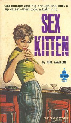 Sex Kitten by Mike Avallone - Paul Rader Cover Art