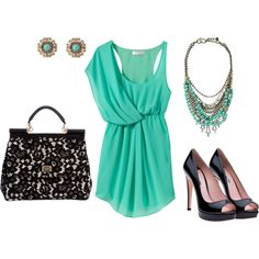 Pool Blue, created by swaite3 on Polyvore