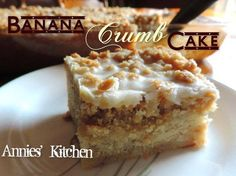 This recipe takes Banana Bread to a whole new level of Awesomeness!!  Banana Crumb Cake !!  Recipe:  https://www.facebook.com/photo.php?fbid=10204664797239772&set=pb.1230907378.-2207520000.1409881080.&type=3&theater