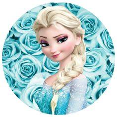 Frozen Theme Cake, Frozen Birthday Theme, Frozen Cake Topper, Cake Toppers, Frozen Drawings, Disney Princess Frozen, Disney Fairies, Gifted Kids, Princesas Disney