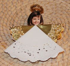 Make Angels for Christmas--This is a super easy craft that even a toddler can do with a little help. These ornaments make ideal gifts for grandparents, too!  There is also a link for a video tutorial:  http://www.youtube.com/watch?v=98hEa0O3LJs