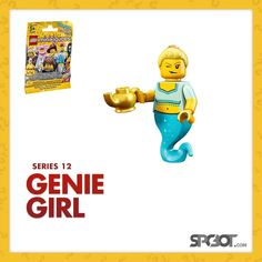 Lego Genie Girl Minifigures Series 12 - NEW SEALED IN BAG - SHIPS FAST #LEGO