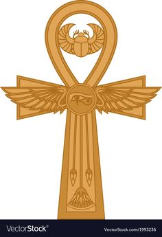 A detailed look into the Egyptian ankh meaning life and immortality. The most common one among the ancient Egyptian symbols, the ankh symbol examined. Pagan Symbols, Symbols And Meanings, Viking Symbols, Ancient Symbols, Viking Runes, Ankh Symbol, Life Symbol, Ankh Tattoo, Ancient Egyptian Beliefs