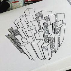 Budovečky :3 #art #artschool #architecture #draw #drawing #love #paint  #color #paper #artist Paper Artist, Photo And Video, Architecture, Colors, Drawings, Painting, Instagram, Home Decor, Arquitetura