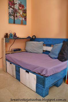 Pallet sofa #Furniture, #Pallets, #Sofa