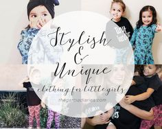 Small Shop Wednesday: Noni Bee + Giveaway // Stylish and unique clothing for toddler and little girls!
