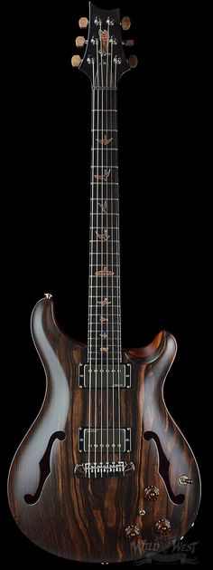 PRS Paul Reed Smith Private Stock #5677 Hollowbody I Macassar Ebony w/ Piezo - Wild West Guitars