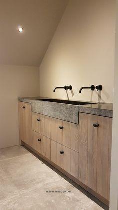 Bathroom Interior, Kitchen Interior, Interior And Exterior, Mountain Home Interiors, Garage Makeover, Property Development, Love Home, Modern House Design, Laundry Room