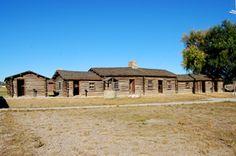 Fort Caspar Living Quarters, September 2009, Kathy Weiser