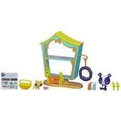 Littlest Pet Shop Cozy Clubhouse Playset