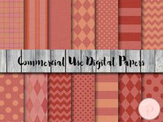 Fabric Texture Digital Paper Fashion Textile by MagicalStudio