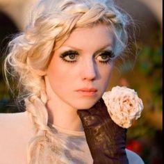 Love the hair! Love the eyes!
