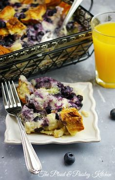 Good Morning! I made Breakfast for you. What better way to wake up than to have Blueberry Cheesecake French Toast for breakfast?  Whip this up the night before, pop it in the oven in the morning and you have the best start to the day Ever! Follow The Plaid & Paisley Kitchen on Pinterest, Facebook, Twitter or Instagram!   I'd love to…
