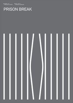 Pretend Man. • 12 Minimalist TV Show posters