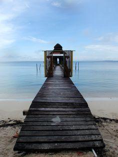Isla Bastimentos, Panama  I stayed here and took this photo!