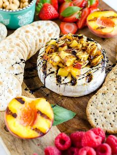 """This appetizer brings a whole new meaning to the term """"grilled cheese"""". Grilled Brie is warm, oozy, with a hint of that smoky grill flavor. Read on to learn how to grill brie. Milk Recipes, Lunch Recipes, Appetizer Recipes, Appetizers, Grilled Sandwich, Grilled Meat, Grilled Chicken, Summer Grilling Recipes, Summer Recipes"""
