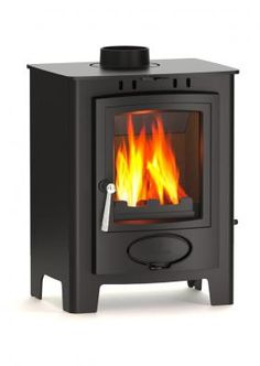 Aarrow Multi Fuel Stoves | Buy 5kW Ecoburn Plus 5 Flexi Fuel Stove Online | UK Stoves