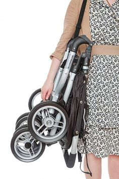 2015 Valco Baby Snap Duo 2 Double Stroller: Look how compactly it folds!