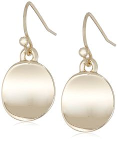 Kenneth Cole New York 'Shiny Earrings' Small Circle Drop Earrings * Check this awesome product by going to the link at the image.