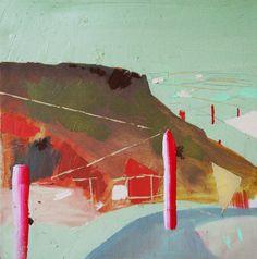 "Saatchi Online Artist: Görkem Dikel; Oil, 2013, Painting ""Arizona Surrounded / Candle Highlights"""