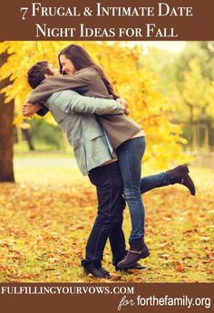 Looking for some frugal and intimate date night ideas for fall? Come check out these 7 date night ideas for fall! :: fulfillingyourvows.com