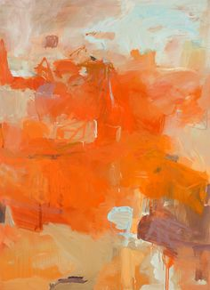 paintings, collage, and printmaking by artist Lori Glavin Abstract Watercolor, Abstract Landscape, Abstract Art, Orange Painting, Orange Wallpaper, Orange Aesthetic, Orange Art, Office Art, Abstract Expressionism
