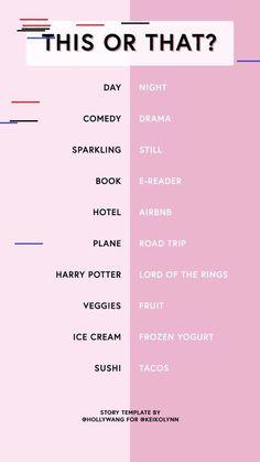 67 Fun Instagram Stories Q&A Templates - Fat Mum Slim 67 Fun Instagram Stories Q&A Templates - Fat Mum Slim Ice Cream Freeze, Fruit Ice Cream, Sushi Taco, Hotel Airbnb, Story Template, Frozen Yogurt, Road Trip, Templates, Day