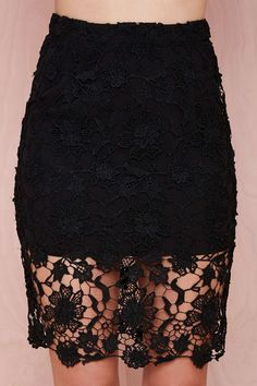 Lace Case Skirt | Shop Skirts at Nasty Gal